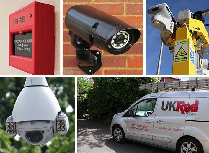 Burglar alarm and CCTV System for Business
