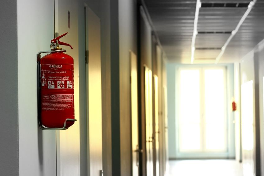 The role of a fire extinguisher